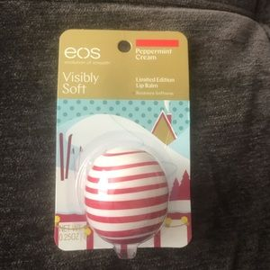 Limited Edition EOS Peppermint Cream lip balm